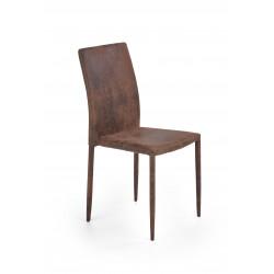 K375 krzesło ciemny brązowy - Halmar