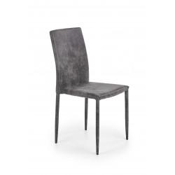 K375 krzesło ciemny popielaty - Halmar