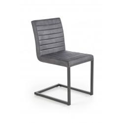 K376 krzesło ciemny popielaty - Halmar