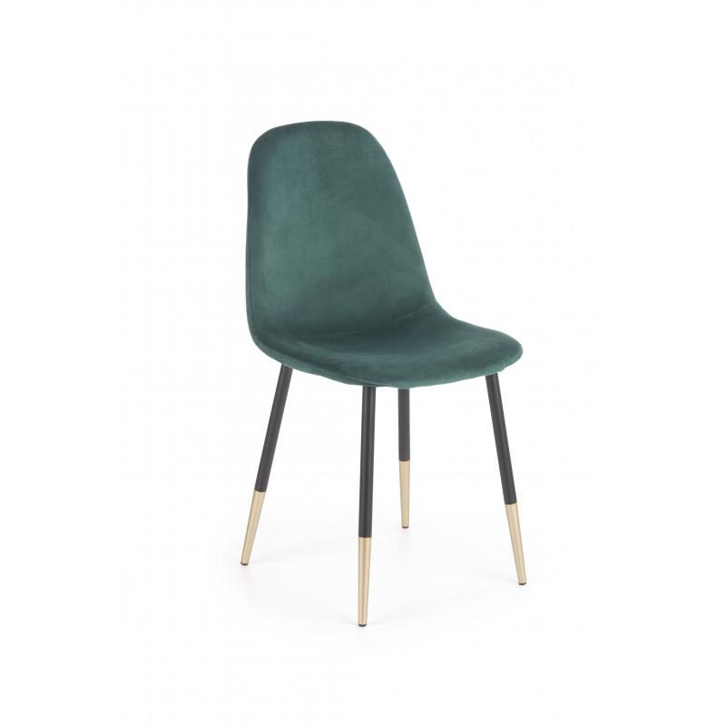 K379 krzesło ciemny zielony - Halmar