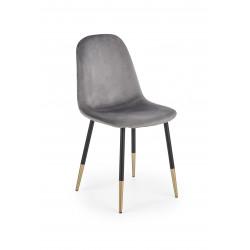 K379 krzesło popielaty - Halmar