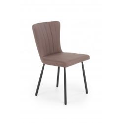 K380 krzesło brązowy - Halmar