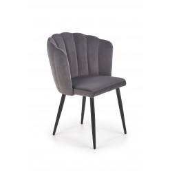 K386 krzesło popielaty - Halmar