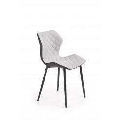K389 krzesło czarny / popielaty - Halmar