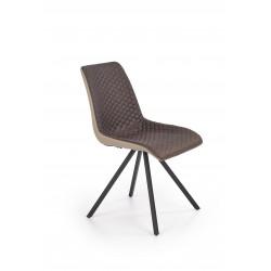 K394 krzesło ciemny popiel / popielaty - Halmar