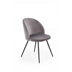 K395 krzesło popielaty - Halmar