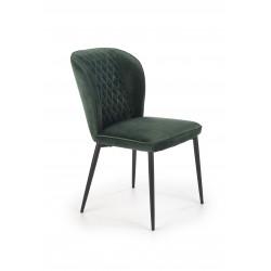 K399 krzesło ciemny zielony - Halmar
