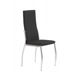 K3 krzesło chrom/czarny - Halmar