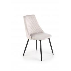 K405 krzesło popielaty - Halmar