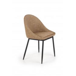 K406 krzesło jasny brązowy - Halmar
