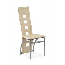 K4M krzesło ciemny krem - Halmar