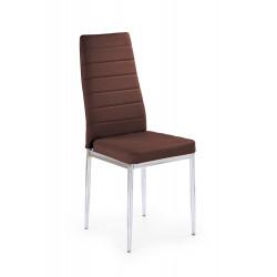 K70C new krzesło brązowy  - Halmar