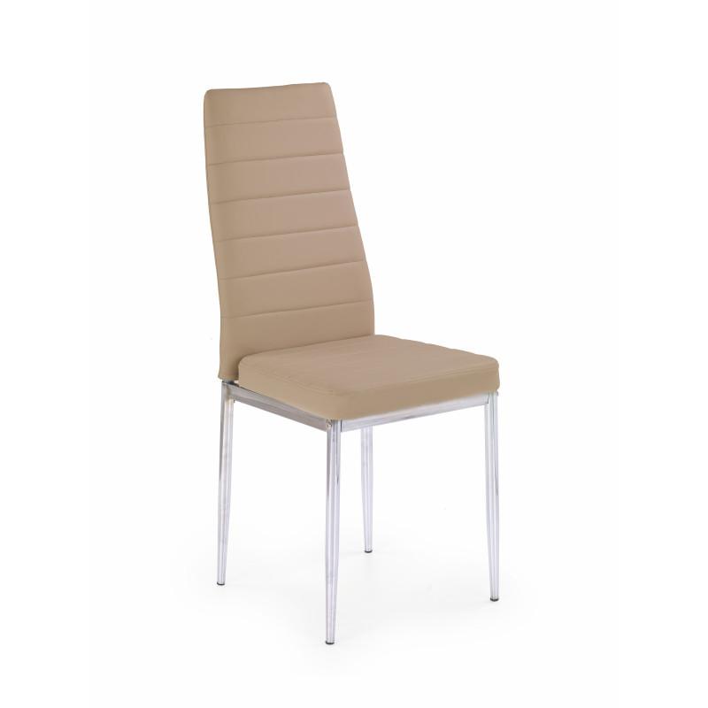 K70C new krzesło ciemny beż  - Halmar