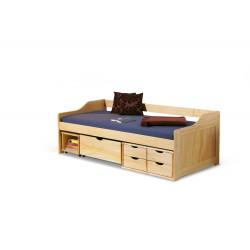 MAXIMA łóżko sosna - Halmar
