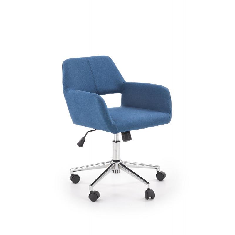 MOREL fotel pracowniczy niebieski - Halmar
