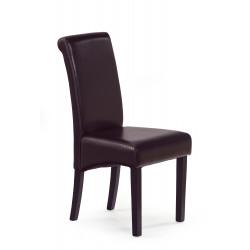 NERO krzesło wenge/ciemny brąz - Halmar