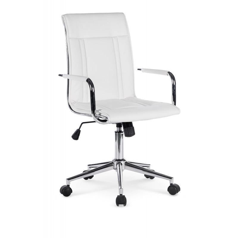 PORTO 2 fotel pracowniczy biały - Halmar