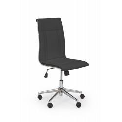 PORTO fotel pracowniczy czarny - Halmar