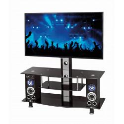 RTV22 stolik TV czarny stereo - Halmar
