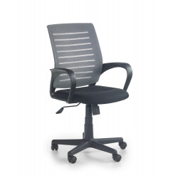 SANTANA fotel pracowniczy czarno-popielaty - Halmar