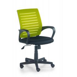 SANTANA fotel pracowniczy czarno-zielony - Halmar