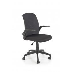 SECRET fotel pracowniczny czarny / czarny - Halmar