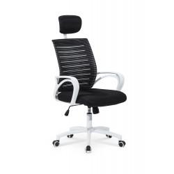 SOCKET fotel pracowniczy biało-czarny - Halmar