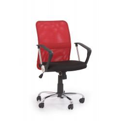 TONY fotel pracowniczy czerwony - Halmar