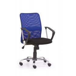 TONY fotel pracowniczy niebieski - Halmar