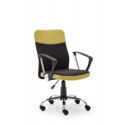 TOPIC fotel pracowniczy czarno - zielony - Halmar