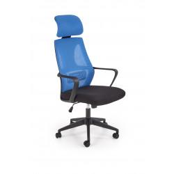 VALDEZ fotel pracowniczy niebieski / czarny - Halmar