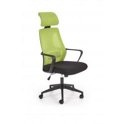 VALDEZ fotel pracowniczy zielony / czarny - Halmar