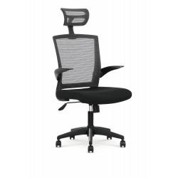 VALOR fotel pracowniczy czarno / popielaty - Halmar