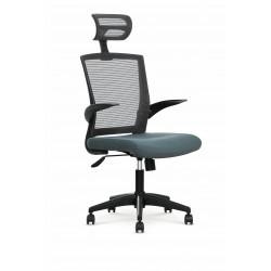 VALOR fotel pracowniczny popielaty / popielaty - Halmar