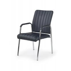 VIGOR fotel pracowniczy/konferencyjny czarny - Halmar