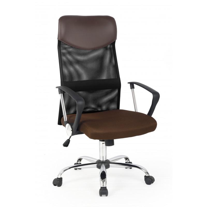 VIRE fotel pracowniczy brązowy - Halmar