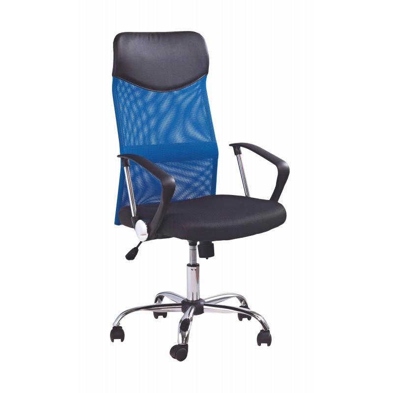 VIRE fotel pracowniczy niebieski - Halmar
