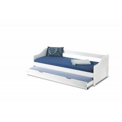 LEONIE 2 łóżko białe - Halmar