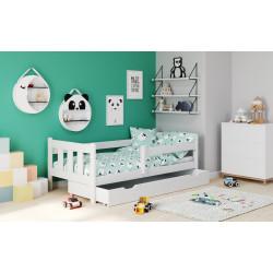 MARINELLA biały łóżko - Halmar