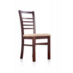ADRIAN krzesło ciemny orzech / tap: Torent Beige - Halmar