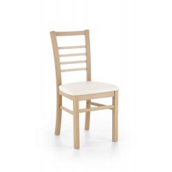 ADRIAN krzesło dąb miodowy / tap: Madryt 121 - Halmar