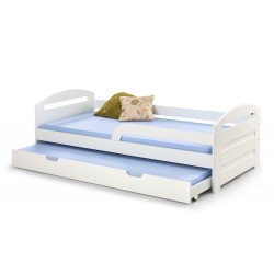 NATALIE 2 łóżko białe - Halmar
