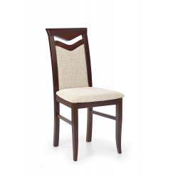CITRONE krzesło ciemny orzech / tap: VILA 2 - Halmar