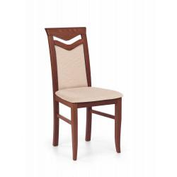 CITRONE krzesło czereśnia ant. II / tap: MESH 1 - Halmar