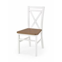DARIUSZ 2 krzesło biały / olcha - Halmar