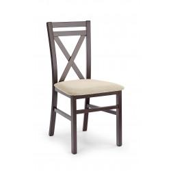 DARIUSZ krzesło ciemny orzech / tap: Vila 2 - Halmar