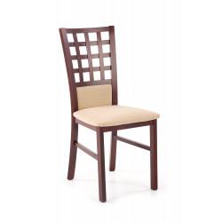 GERARD3 BIS krzesło ciemny orzech / INARI 45 - Halmar