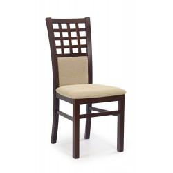 GERARD3 krzesło ciemny orzech / tap: Torent Beige - Halmar