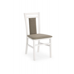 HUBERT8 krzesło biały / tap: Inari 23 - Halmar