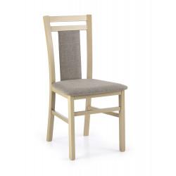 HUBERT8 krzesło dąb sonoma / tap: Inari 23 - Halmar